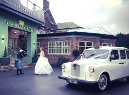 London Taxi for weddings in Bolton